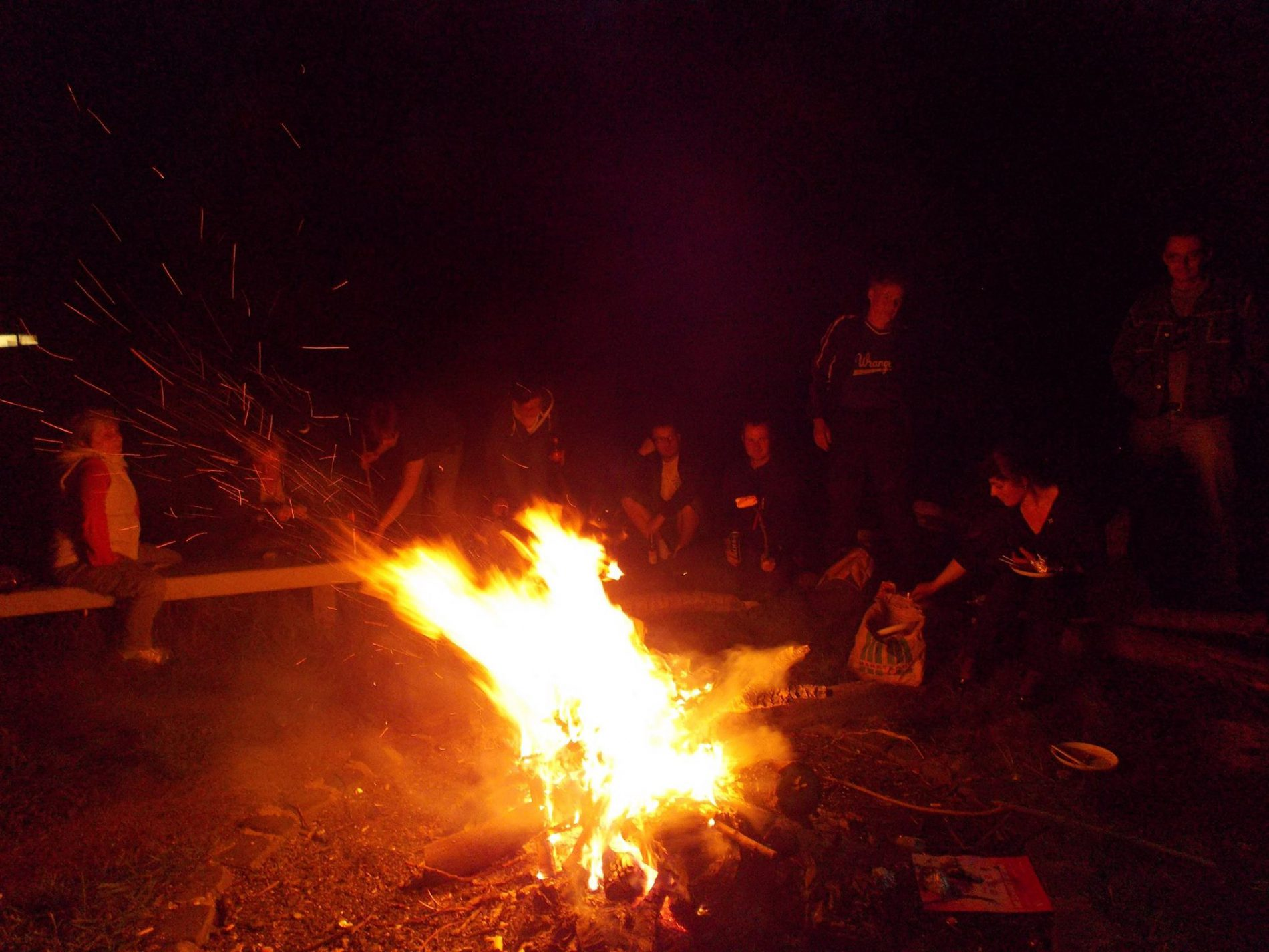 Sommerausklang mit Lagerfeuer am 16.09.2014
